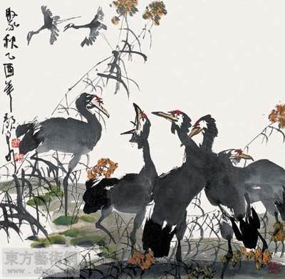 中国画研究院,中国画系列展花鸟专题展,入选《当代名家花鸟画大展作品