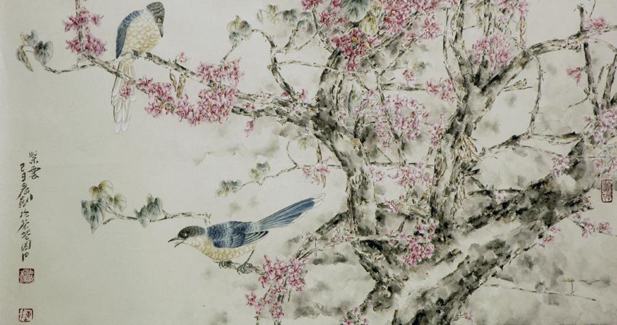 访著名花鸟画家