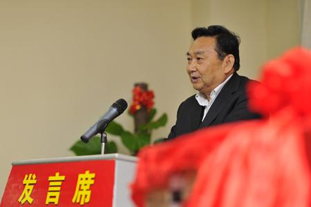 3中国水利文协主席张印忠致词