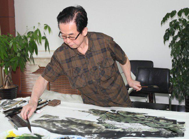 画家王旦坤――用抽象
