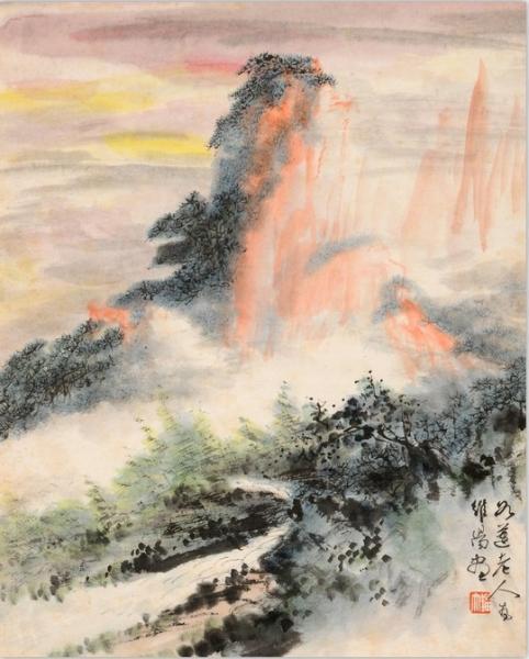 白云归故乡——画家刘知白中国画合肥展图片