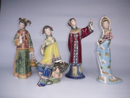 广东石湾窑博物馆馆藏《春夏秋冬》