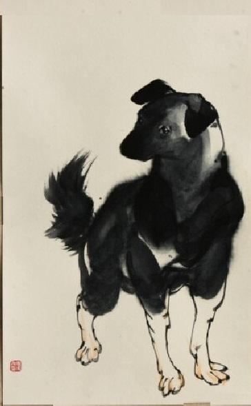 国画动物画法步骤图片